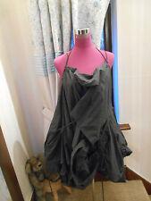 Amazing All Saints Parachute Short Dress Grey  Size 8 - 10  Excellent Condition
