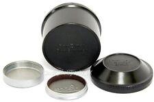 Genuine LEICA Bakelite Keeper for 5cm SUMMAR Elmar 5cm LTM Lens + A36 Lens Caps