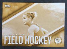 2016 Topps Olympics Gold 5X7 Jumbo Card Paige Selenski Insert Team USA #/10 Rare