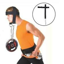 Head Harness Neck Muscles Builder Belt Weight Lifting Gym Chain Exercise Hot