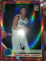 Terrance Mann 2019 Optic PINK HYPER RATED ROOKIE PRIZM!!