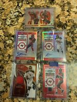 2017 Tampa Bay Bucs Ten Card Lot - Autos/SP/Prizm/RC's/Patch - see Pics/Info