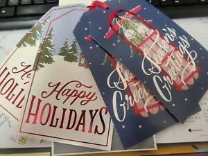 Hallmark Large Gift Tags New package Of 4