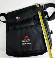Original PlayStation Satchel Handheld Bag - PS1 Sony Laptop Bag RARE