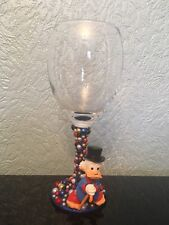 Disney Scrooge McDuck Figure Wine Glass xx