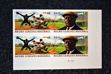 2010USA #4465-4466 44c Negro League Baseball - Plate Block of 4 - Mint NH