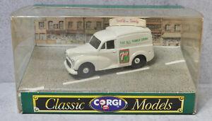 Corgi D957 Morris Minor Van 7-Up Boxed