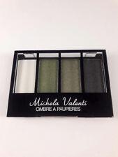 Fards à paupières tons blanc vert noir maquillage yeux femme tendance mode!