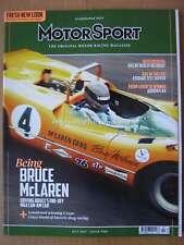 Motorsport October 2017 McLaren M6A Can-Am Nico Rosberg Arrows A4 Gordon Spice