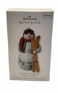 2010 Hallmark Keepsake Ornament Freddy F. Freestyle Snowtop Lodge