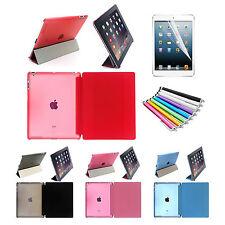 01-iPad Funda Soporte Inteligente Piel para iPad 2,3,4,Mini, 5 Aire,Air2