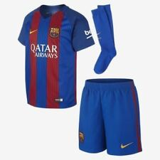 NIKE Barça Barcelona Home Kids FULL KIT 2016-17  Top Shorts Socks Size 7-8 YRS