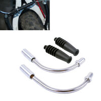 MTB Bicycle V Brake Noodles Cable Guide Bend Tube Pipe Protector Hose 1 Pair
