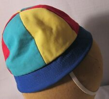 Vintage Baby Boy Multi Color Beanie Hat-Size 18 Months