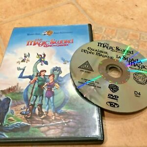 The magic sword-quest for Camelot-1998 DVD 83m PAL cert U