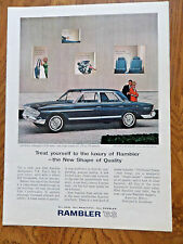 1963 Rambler Ambassador 990 Sedan Ad