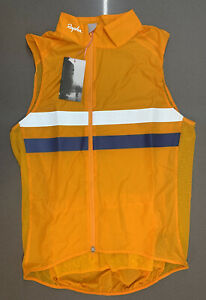 Rapha Brevet Gilet With Pocket Dark Yellow Size Medium Brand New With Tag