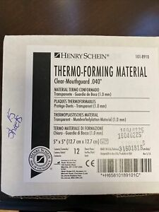 Henry schein Thermo-Forming Material Clear Mouthguard .040