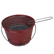Coleman Portable Bucket Charcoal Grill with Movable Grate for Fast Cooking