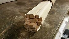 Hobby Craft Wood 24 inches long Various square diameters 40 pcs.