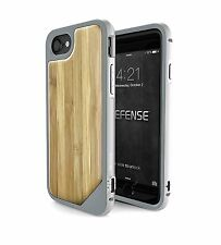 iPhone 7 Wooden Case, X-Doria Defense Lux Drop Tested [Bamboo]