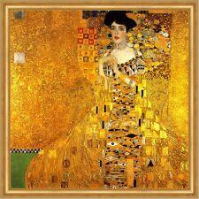 Adele Bloch-Bauer I LW Jugendstil Secession Goldene Gustav Klimt A2 049