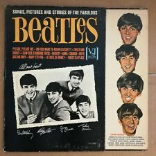 THE BEATLES Songs, Pictures And Stories 1964 LP Vee-Jay VJLP 1062 ORIG BRACKETS