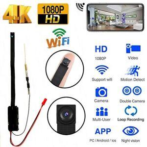 Nanny Cam 1080P HD wireless Mini WiFi Hidden Pinhole DIY Screw Camera DVR US
