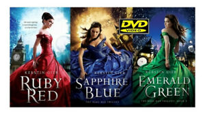 RUBY RED 1-2-3- TRILOGY DVD ITA -xfetto stato : regalo con acquisto cartolina