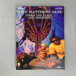 Dave Matthews Band Under The Table And Dreaming Guitar Tab Book Sheet Music