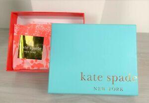 "KATE SPADE Gift Jewelry Box 4.5"" x 5.5"" x 1.75"""