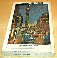 Vintage POST OFFICE TOWER, LONDON Jigsaw Puzzle OLD