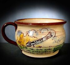VERY RARE NOVELTY DEVON COMMEMORATIVE COMISSIONED MUG -  OBVIOUSLY ONE OF A KIND