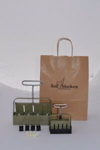 Soil Blocker Gardening Gift Set Green
