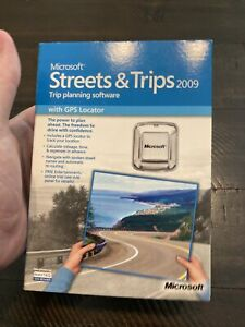 Microsoft Streets and Trips 2009 with GPS Locator for PC (ZV3-00019)