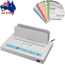 220V Hot Melt Thermal Binding Machine Electric Book Binder for A4 OZ
