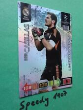 Champions League 2010 2011 Real Madrid Casillas Panini Adrenalyn Limited
