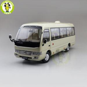 1:24 Toyota COASTER Bus Diecast Model Toys simulation Car Bus Boys Girls Gifts
