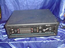 90's Fender bxr 400 dual Bass amp-made in USA