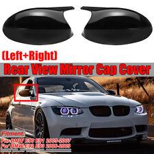 M3 Style Gloss Black Mirror Cap Cover For BMW 3 Series E90 E91 E92 E93 Pre-LCI