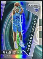 2019-20 Panini Prizm Pj Washington Jr. Silver Prizms Rookie Card Rc Hornets 📈🔥