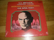 Rodgers & Hammerstein THE KING AND I yul brynner LP Record - Sealed