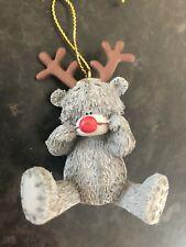ME TO YOU TATTY TEDDY BEAR XMAS TREE HANGING DECORATION -  REINDEER SITTING