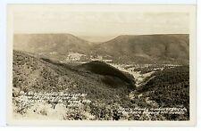 "New Creek WV Vintage RPPC Keyser DEVILS SADDLE ""Abe Lincoln's Mother"" Photo 40s"