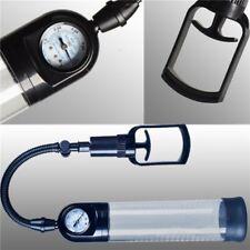 100% Neuf Pompe Pénis Développeur avec manomètre cylindre gradué  21x6cm