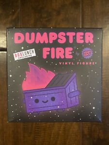 100% Soft Dumpster Fire Galaxy Box Lunch Exclusive! New! ⚡️Fast Shipping!
