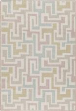 "5x8 Milliken Junctions Pastel Modern Geometric Maze Area Rug - Approx 5'4""x7'8"""