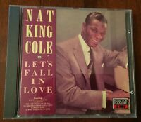 Nat King Cole - Let's Fall In Love CD Album - Used