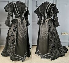 1890s Dress - Court Dressmaker Russell & Allen - Victorian Antique Fashion