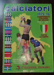 ALBUM FIGURINE CALCIATORI PANINI 1975/76 COMPLETO